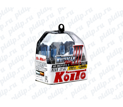 Купить Koito Whitebeam III H11 55 W = 100W 4000 K