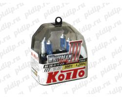 Koito Whitebeam III H7 12v/55 W =100W 4200 K