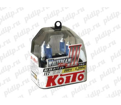 Купить Koito Whitebeam III H7 12v/55 W =100W 4200 K