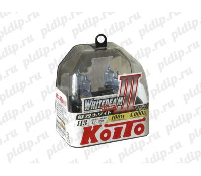Купить Koito Whitebeam III H3 55 W = 100W 4000 K