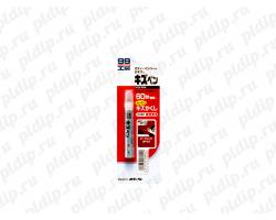 Краска-карандаш для заделки царапин Soft99 KIZU PEN темно-красный