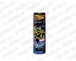 Leather & Tire Wax - Полироль кожи, резины, пластика 420ml Soft99