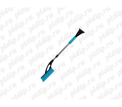 Купить ZBW022 Телескопическая щетка для снега со скребком ZEUS (90/130 см)