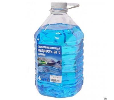 Жидкость для омывателя OILRIGHT стекла, зимняя -30, 4л