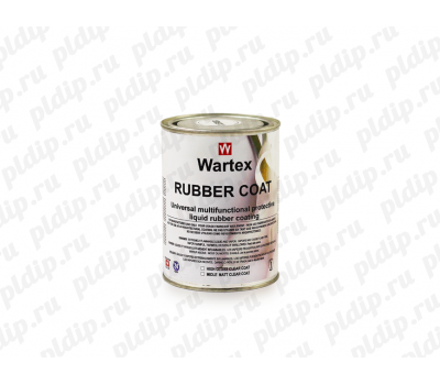 Купить Жидкая резина WARTEX Rubber Сoat 1L Clear (Прозрачный)