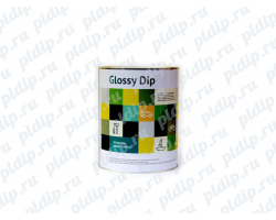 Жидкая резина Glossy Dip 3.8L | Black Gloss (Черный )