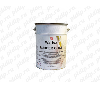 Купить Жидкая резина WARTEX Rubber Сoat 5L Black (Черный)