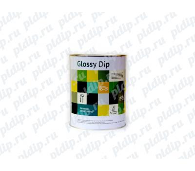 Купить Жидкая резина Glossy Dip 3.8L | Black Gloss (Черный )