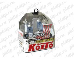 Koito Whitebeam III H4 60/55 W = 135/125W 4200 K