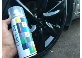 Жидкая резина Glossy Dip spray | Black (Черный)