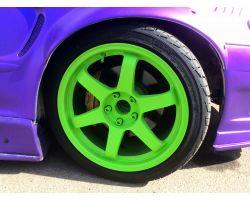 Plasti Dip 5L Electric Lime Green жидкая резина зеленый лайм в ведерке 5л