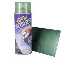 Plasti Dip spray Green Metalizer жидкая резина зеленый металлик в аэрозоле