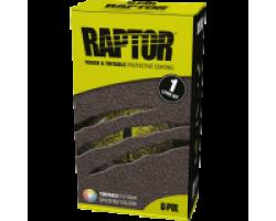 Raptor U-Pol защитное покрытие повышенной прочности, комплект 1л 750 мл+250 мл черный