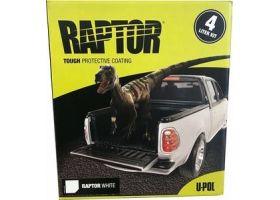 Купить Набор Raptor U-Pol White (Белый) 4л