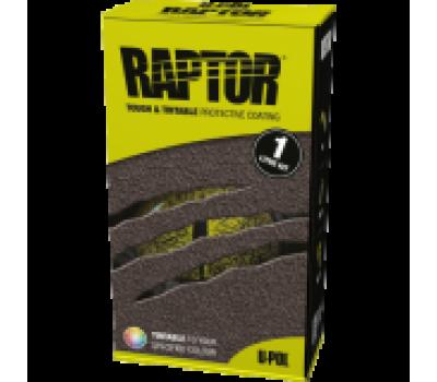Купить Raptor U-Pol защитное покрытие повышенной прочности, комплект 1л 750 мл+250 мл черный