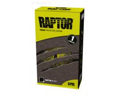 Raptor U-Pol  защитное покрытие повышенной прочности, комплект 1л 750 мл+250 мл Колеруемый