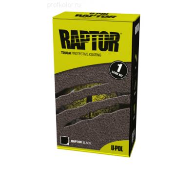 Купить Raptor U-Pol  защитное покрытие повышенной прочности, комплект 1л 750 мл+250 мл Колеруемый